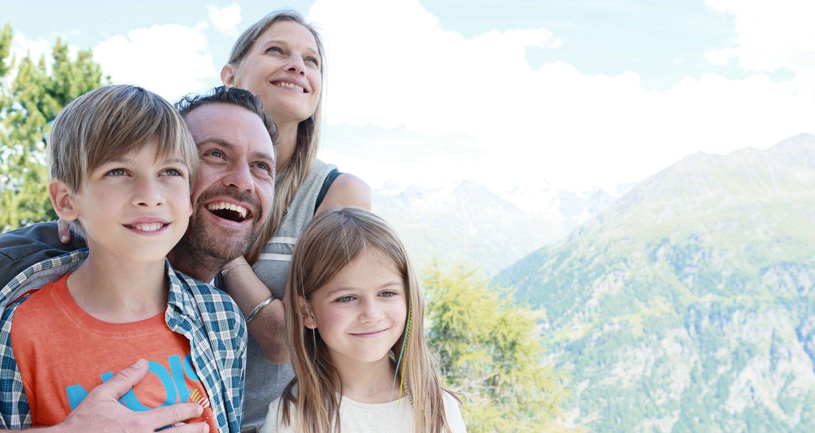 Familienurlaub in Sölden